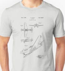 Camiseta ajustada Patente de avión 1942