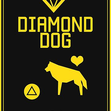 DD - Press △ to love dog by bleachedink