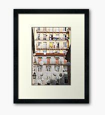 Façade Framed Print