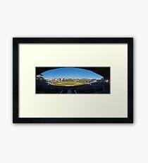 Isotopes Stadium Framed Print