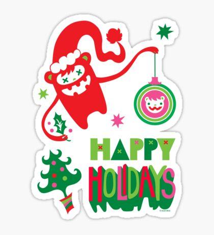 Monster Holidays Sticker