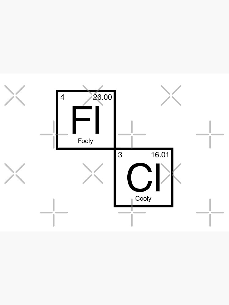 FLCL Periodic Table by huckblade
