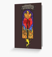 Lord of Light R'hllor Greeting Card