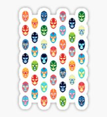 Lucha libre mask Sticker