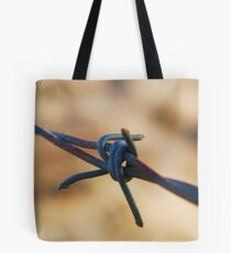 Along the wire Tote Bag