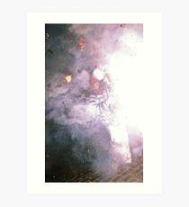 Barrel Boy (Lewes Bonfire 2010) Art Print