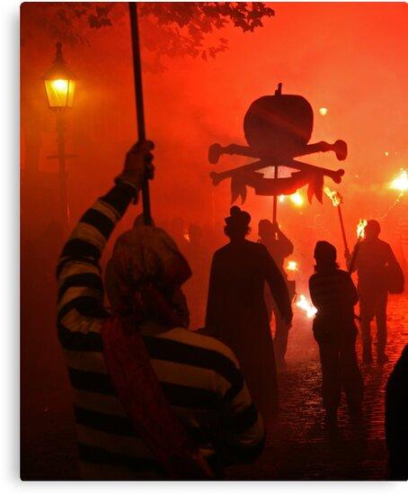 Red Skull (Lewes Bonfire 2010) by JJFA