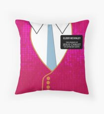 Elder Mickinley- Book of Mormon Throw Pillow