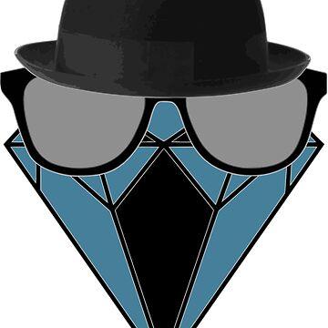 Diamond Blue Glassess by aledex