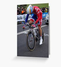 David Millar  Greeting Card