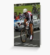 Fabian Cancellara Greeting Card