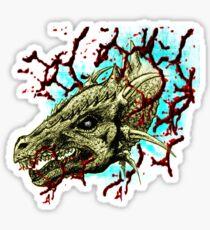 Dragon Head Sticker