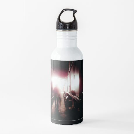 Train shed Ghost Water Bottle