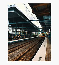Train Station At Parramatta Photographic Print