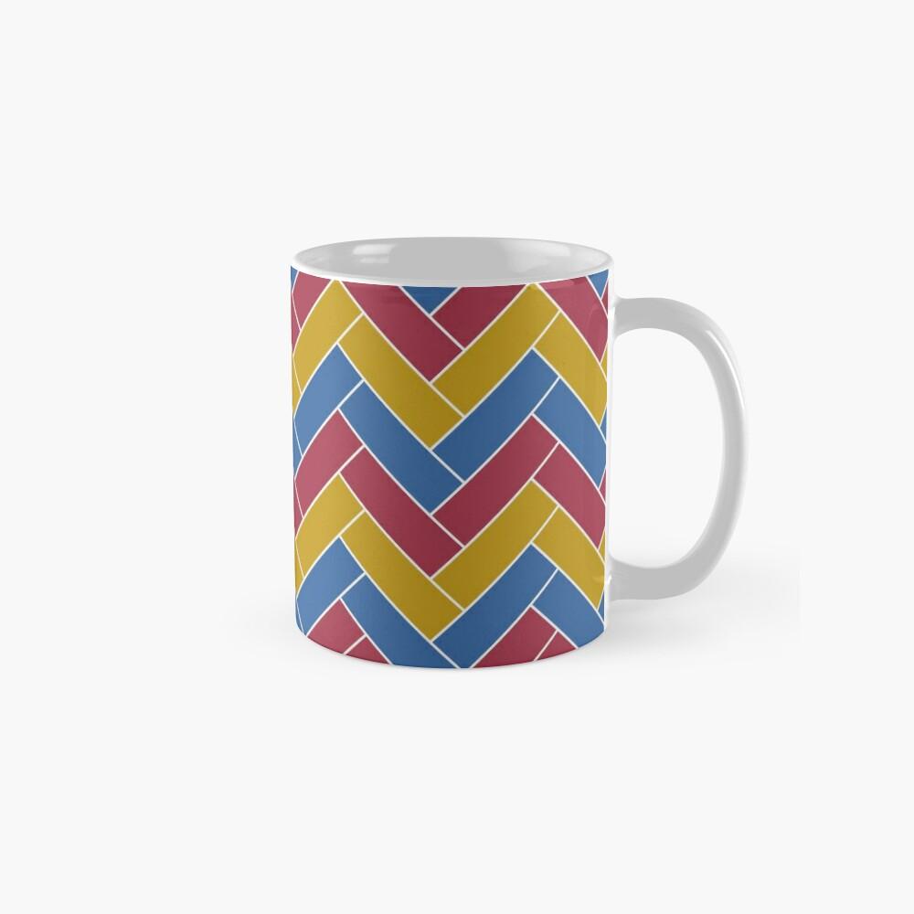 Geometric Pattern: Herringbone: Summer Mug