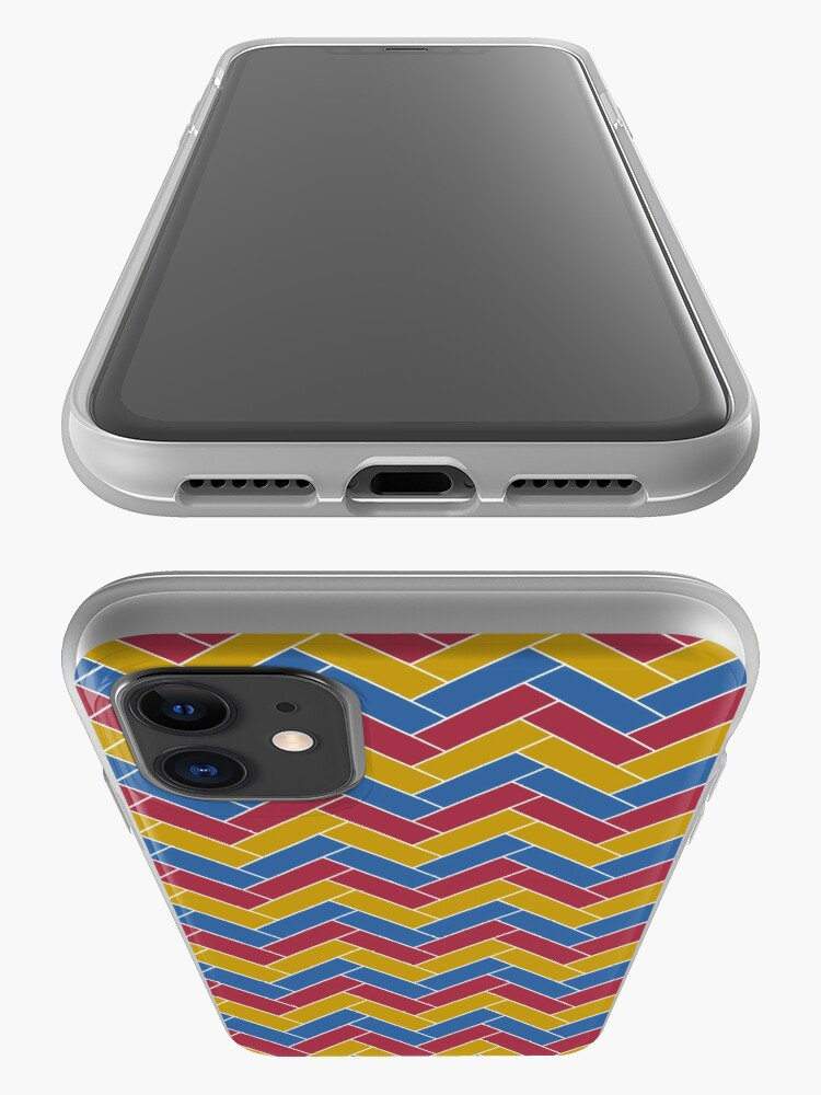 Alternate view of Geometric Pattern: Herringbone: Summer iPhone Case & Cover