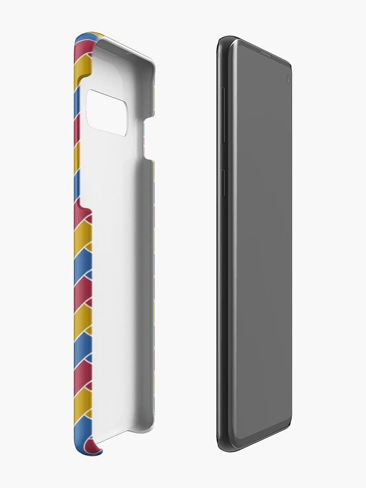 Alternate view of Geometric Pattern: Herringbone: Summer Case & Skin for Samsung Galaxy