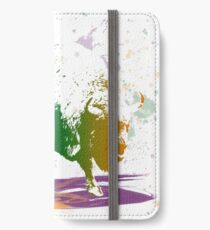 Bison in a colour storm iPhone Wallet/Case/Skin
