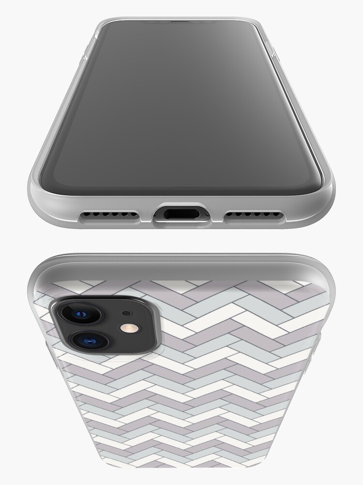 Alternate view of Geometric Pattern: Herringbone: Winter iPhone Case & Cover