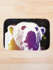 That Polar Bear is Watching Me Bath Mat