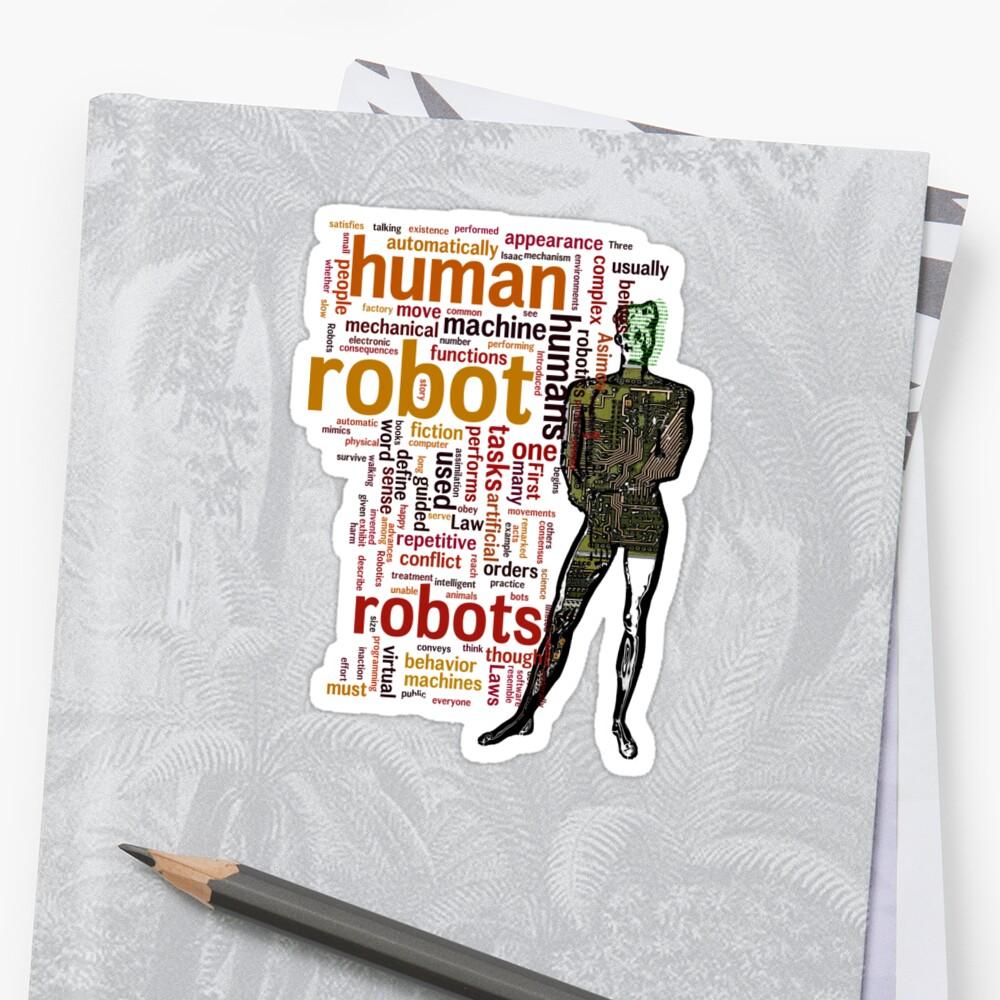 Human Robot by Tania Rose
