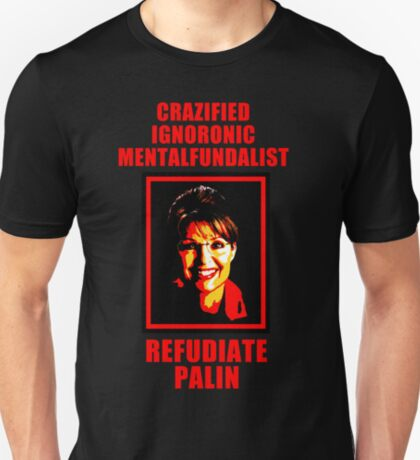 Refudiate Sarah Palin T-Shirt