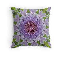 Purple Array Throw Pillow