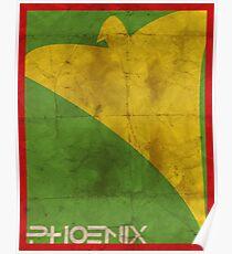 Minimalist Phoenix Poster