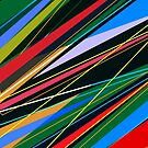 Abstract colorful shapes 2 by mikath