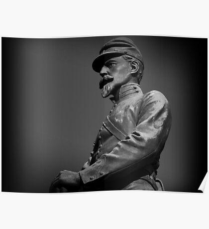 Soldier In Bronze Poster