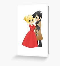 OUAT - Captain Swan Formal Greeting Card