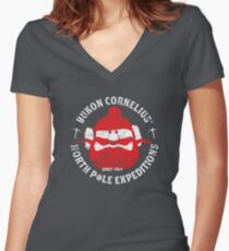 Yukon Cornelius North Pole Expeditions Fitted V-Neck T-Shirt