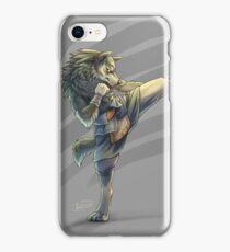 Kickboxing Wolf Link iPhone Case/Skin
