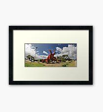 Big Lobster Framed Print