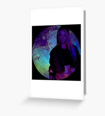 Galaxy Hyoyeon Greeting Card