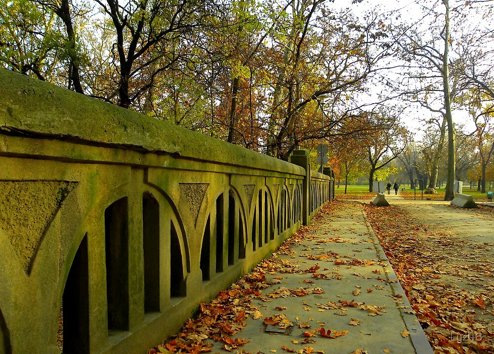 Autumn, Hungary, Budapest, City Park by Lyz48