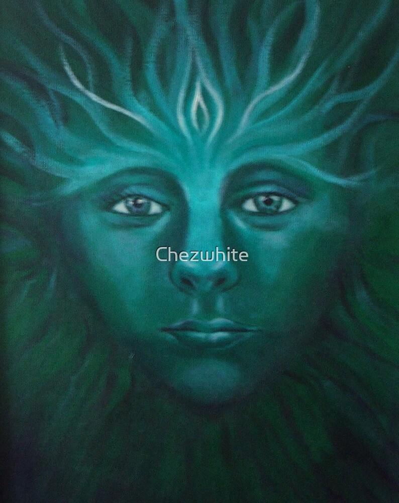 Feeorin - Green Man by Cheryl White