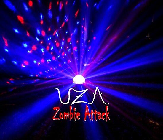 UZA Zombie Attack Light Blue by uza13