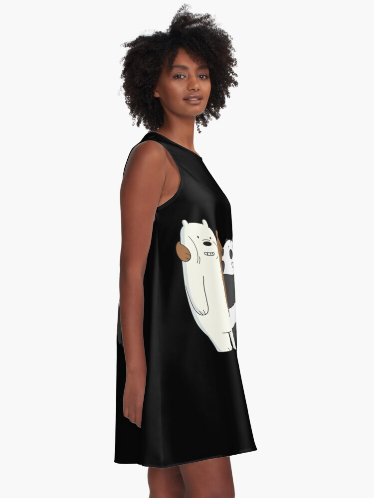 Alternate view of We Bare Bears A-Line Dress