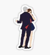 The Twelfth Doctor Dances Sticker