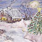Awaiting Christmas by Mary Sedici