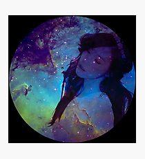 Galaxy Tiffany Photographic Print