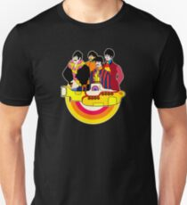 Yellow Submarine - Pop Art Slim Fit T-Shirt