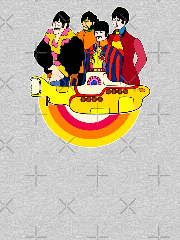 Yellow Submarine - Pop Art by GiGi-Gabutto