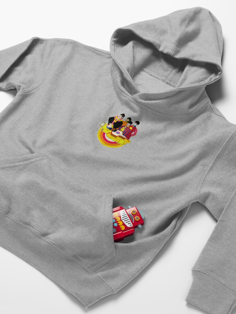 Alternate view of Yellow Submarine - Pop Art Kids Pullover Hoodie