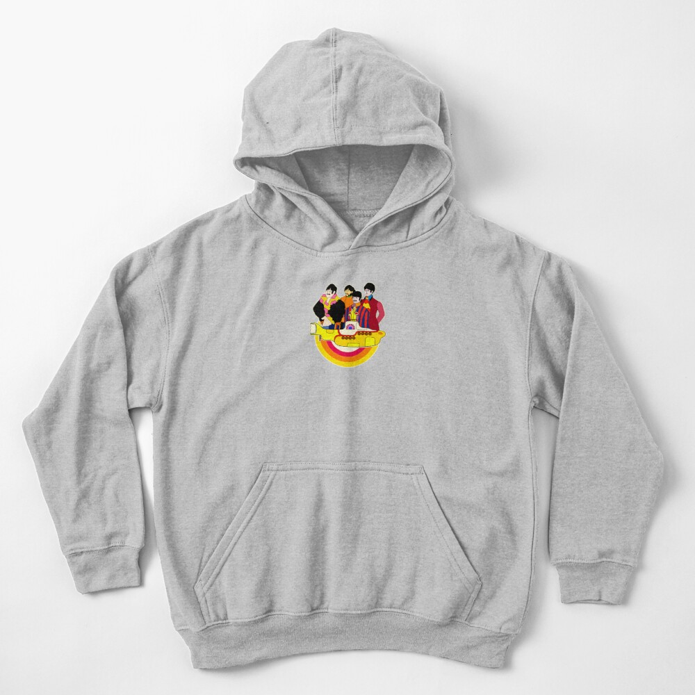 Yellow Submarine - Pop Art Kids Pullover Hoodie