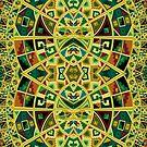 Colorful Ancient geometric pattern by artonwear