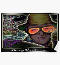 Driving Dr. Thompson Poster