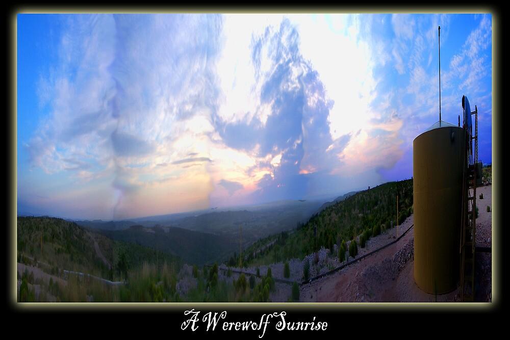A Werewolf Sunrise by BurnTurnStudio