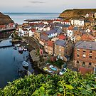 Staithes Village, North Yorkshire by Dave Hudspeth